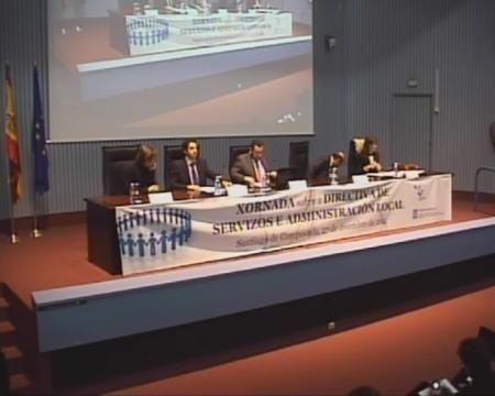 Mesa Redonda - Xornada sobre a Directiva de Servizos e a Administración Local